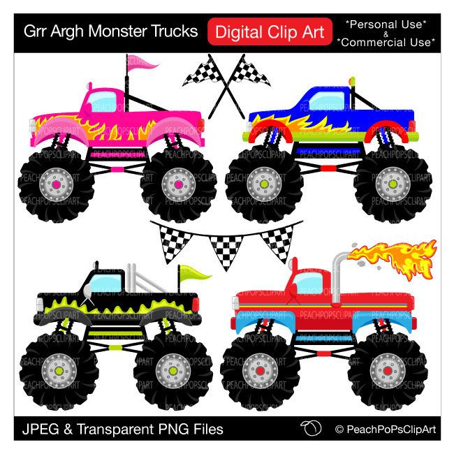 Pin By Regina Grubbs On Cookie Puzzles Make Me Into A Cookie Inspiration Monster Trucks Monster Truck Birthday Monster Trucks Birthday Party