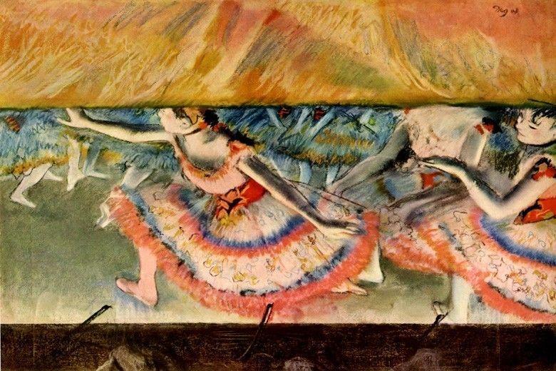 The Curtain Falls Ballet Finale Dancers Dance Stage 1880 By Edgar Degas Repro Ebay Edgar Degas Art Edgar Degas Degas