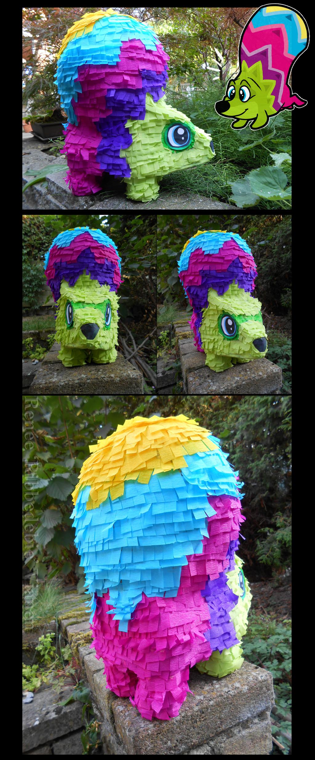 Viva Pinata Fergy Fudgehog Replica By Ribbedebiedeviantartcom On