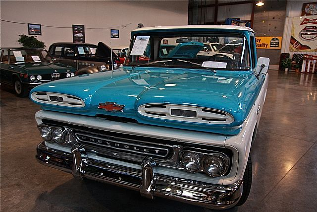 1961 Chevrolet Apache Maintenance Of Old Vehicles The Material For