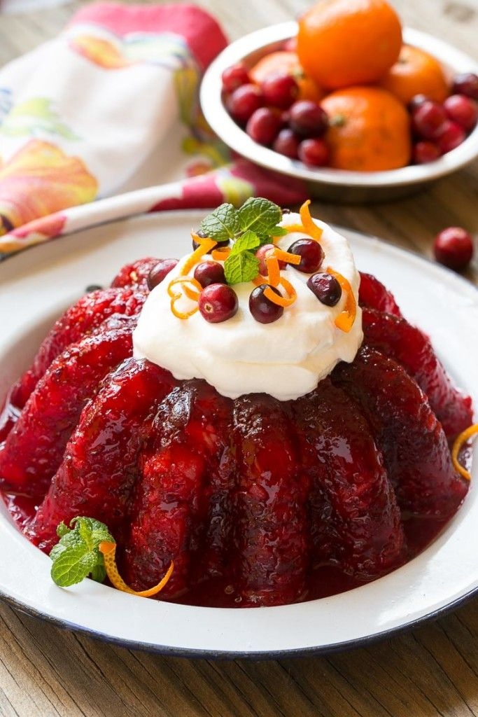 thanksgiving cranberry jello recipes - 680×1020