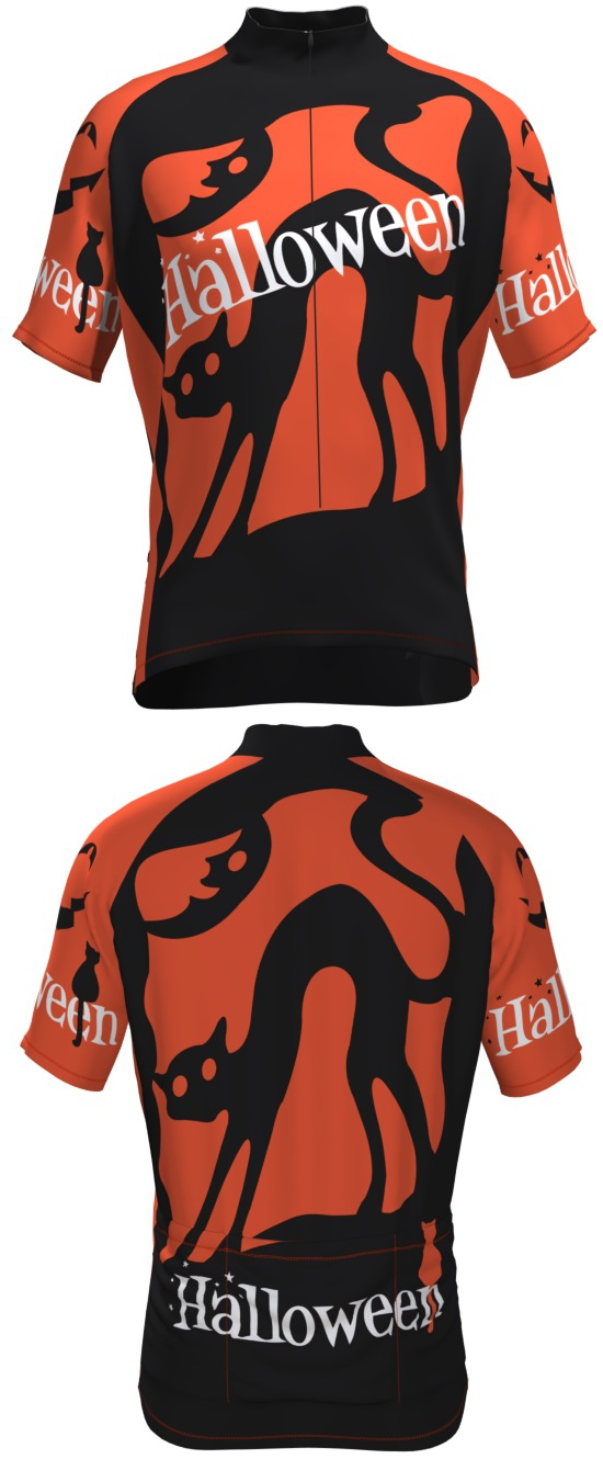 Halloween Cycling Jerseys at for FREE