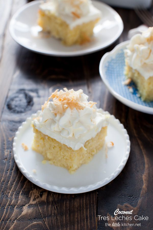 Coconut Tres Leches Cake Recipe Coconut Cake and Kitchens