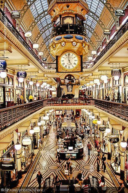 Queen Victoria Building is full of Boutique's and Speciality Shops. Located right in the heart of Sydney, New South Wales.