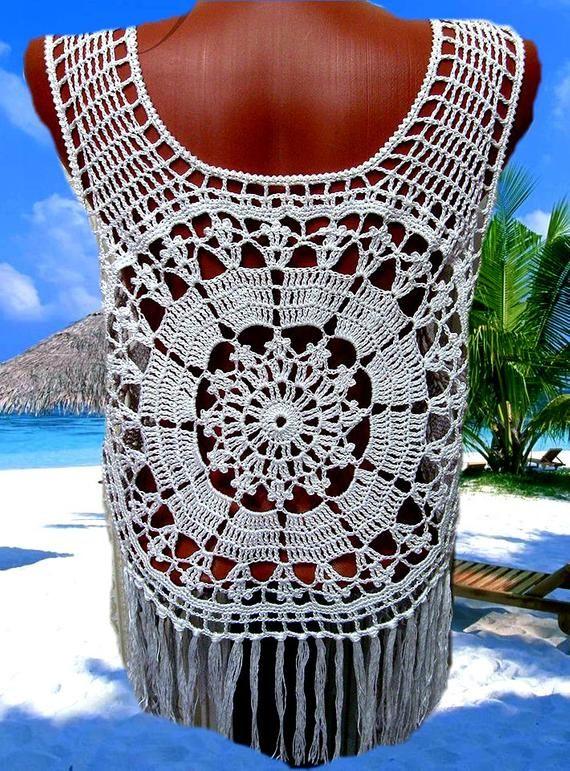 Crochet top, crochet beach top, crochet fashion, crochet clothing, crochet style, crochet boho top, lace crochet, summer clothing, crochet