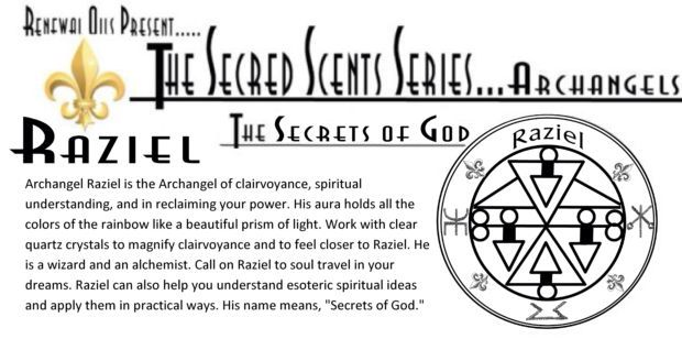 Archangel Raziel Sigil Angels Pinterest Angel Occult And Tarot