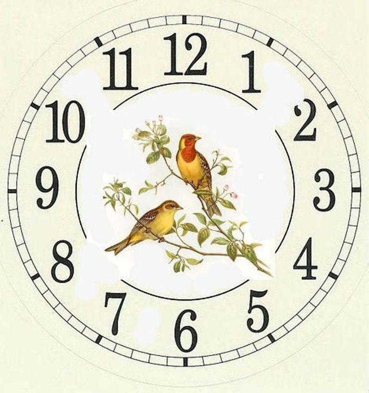 сделать большая картинка циферблата часов сказать