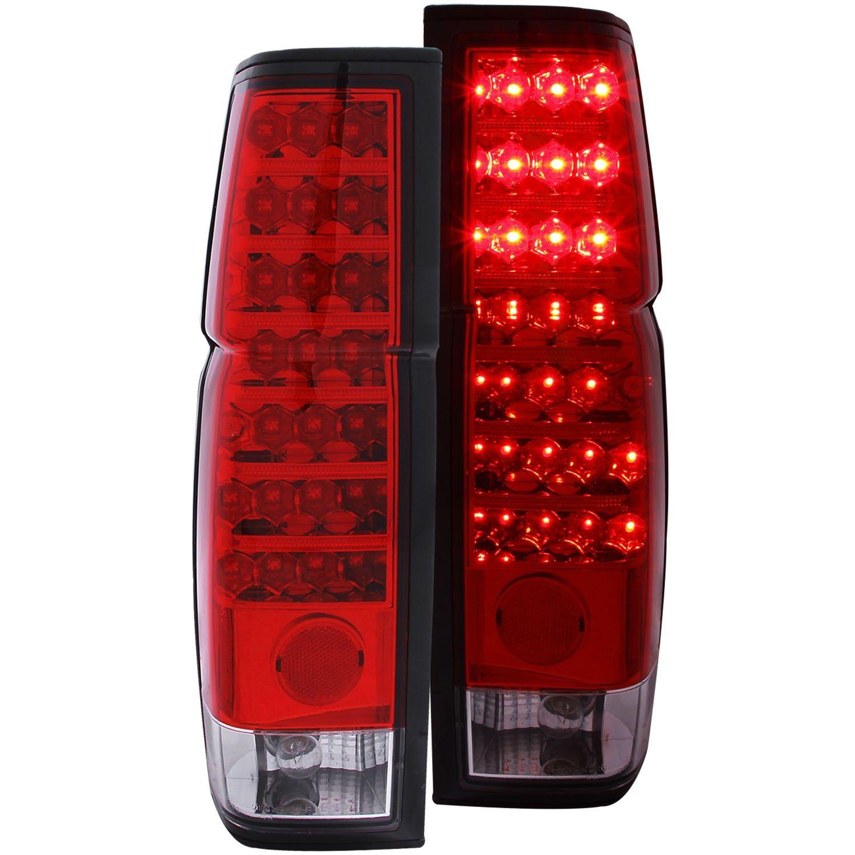 Nissan Hardbody 86 97 L E D Tail Lights Red Clear Tail Lights Nissan Hardbody Tail Light Led Tail Lights
