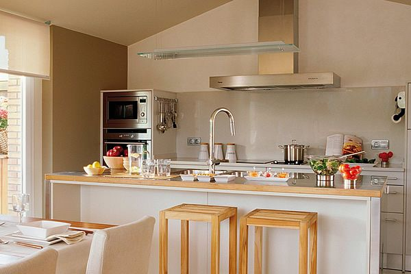 Como dise ar una casa peque a moderna buscar con google - Como disenar una cocina pequena ...