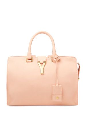 Classic Leather Cabas Y Small Satchel