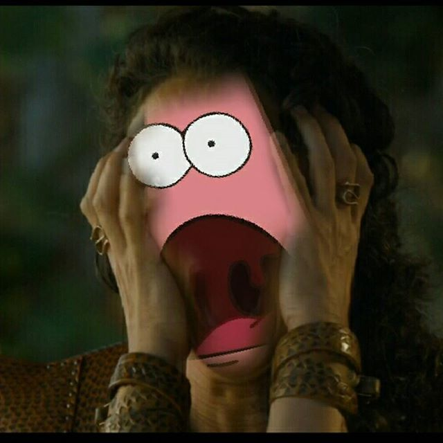 What scene from GoT today still makes your skin crawl?? #got #hbo #asoiaf #gameofthrones #meme #gotmemes #gameofthronesmemes #season4 #s4 #ellaria #sand #ellariasand #spongebob #patrick #spongebobsquarepants #oberyn #martell #indiravarma #mountainandtheviper #winteriscoming101 #winteriscoming #asongoficeandfire
