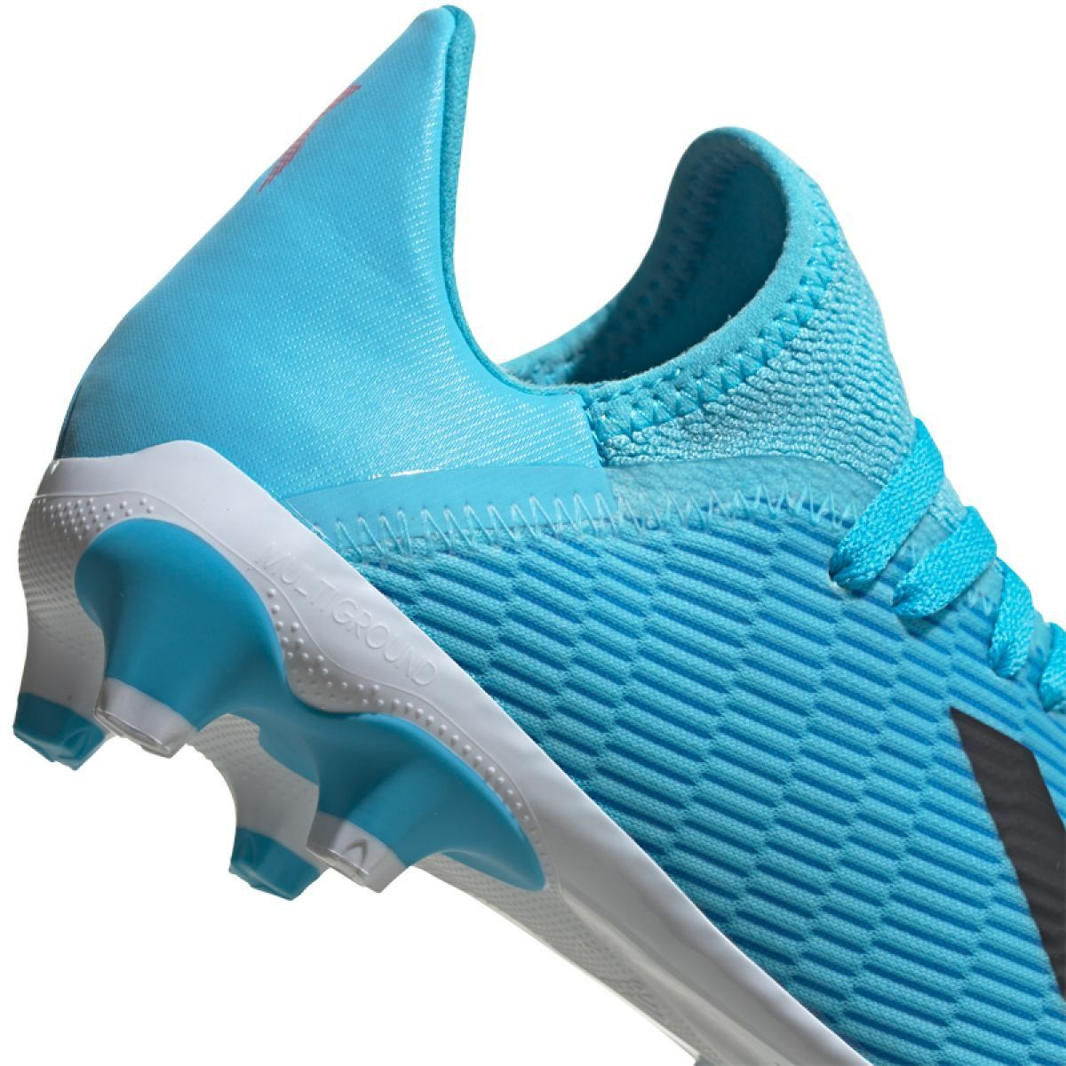 Buty Pilkarskie Adidas X 19 3 Mg Jr Ef7550 Niebieskie Niebieskie Football Shoes Junior Shoes Blue Shoes