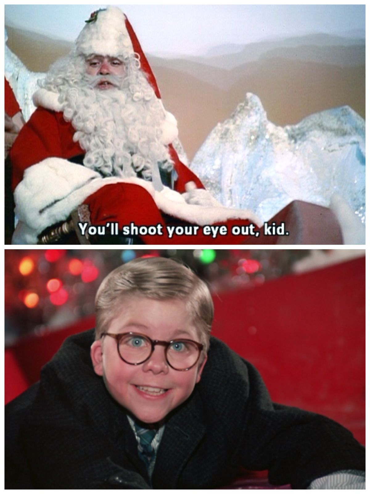 You Ll Shoot Your Eye Out Kid Christmas Story Movie A Christmas Story Kids