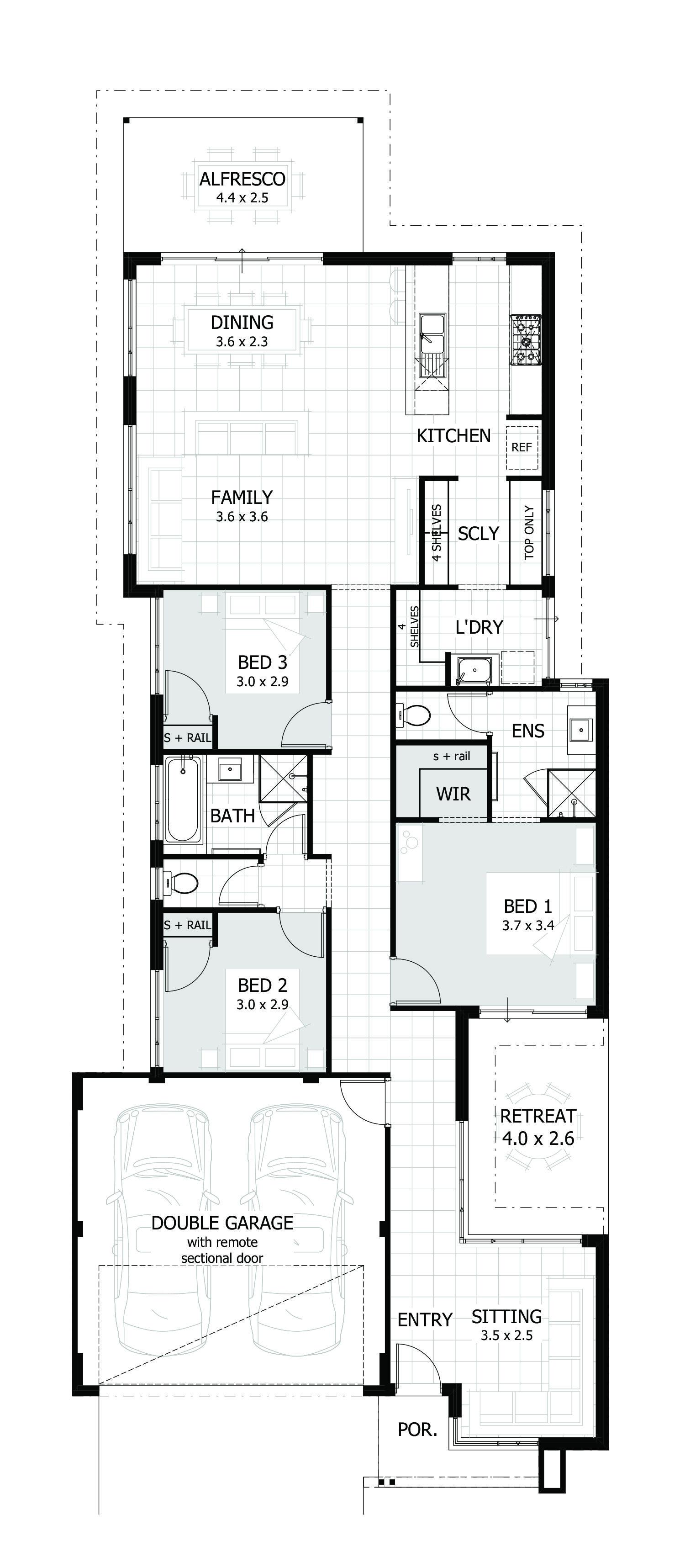 Harlow Floor Plan