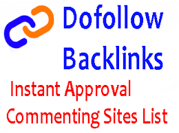 Instant approval blog commenting sites list to increase