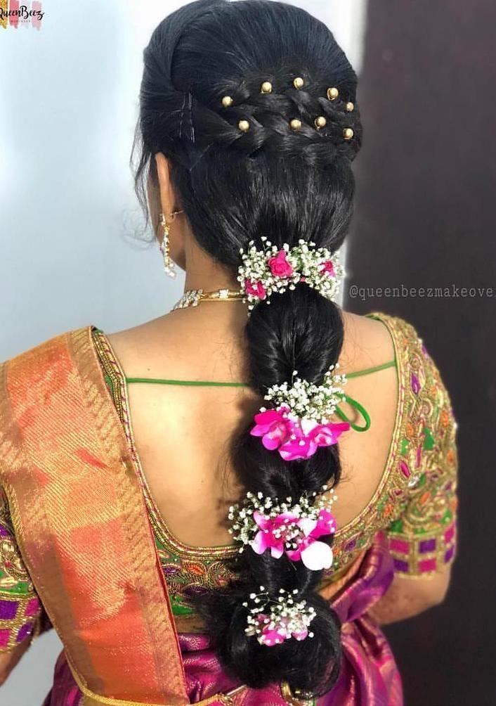 delicious #IndianWeddingHairstylesWithDupatta   Indian bridal hairstyles
