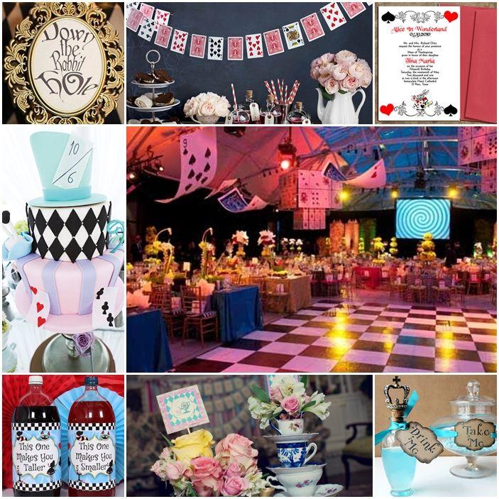 Alice In Wonderland Sweet Fifteen Quinceanera Theme Quinceanera Themes Alice In Wonderland Sweet Fifteen