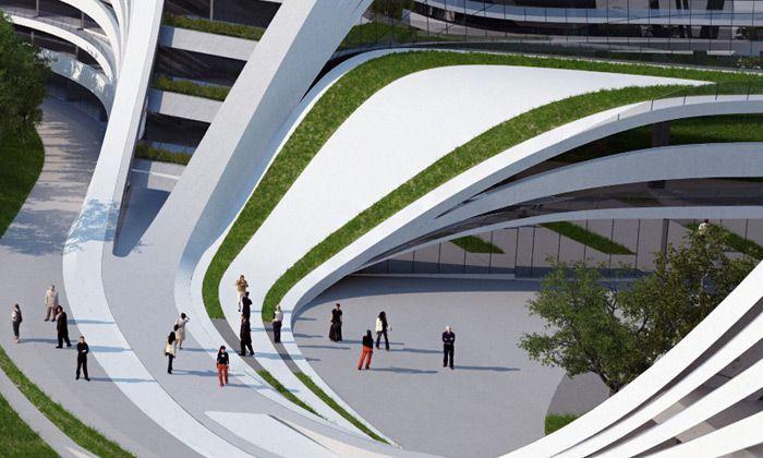 zaha hadid architecture style pdf
