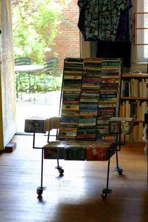 A Chair made out of books! I have over 4000 so maybe I should make one!