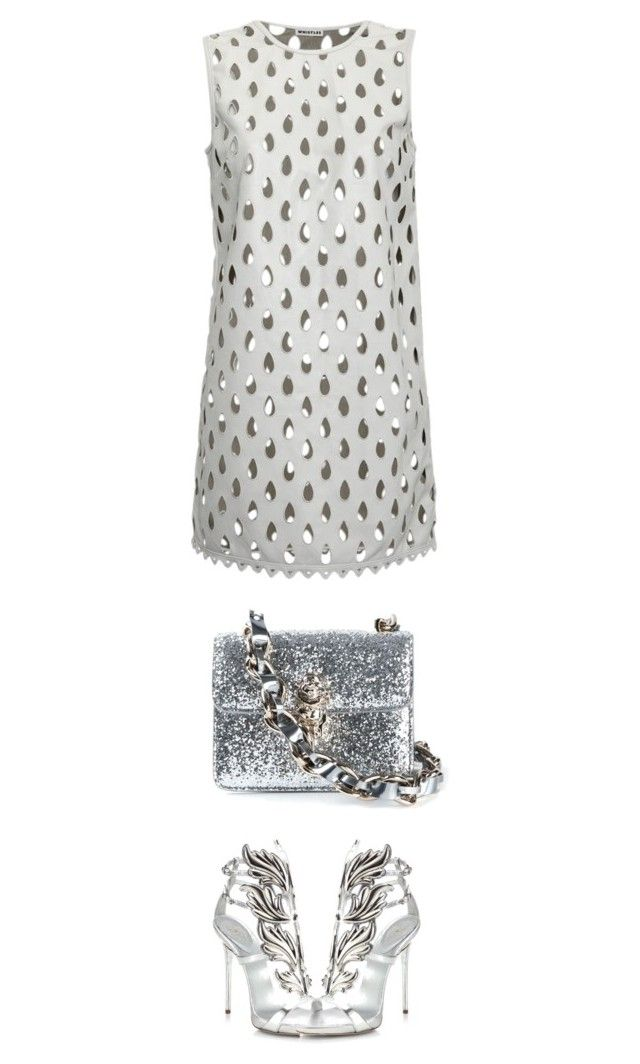 """Cutout Mini Dress"" by junglover ❤ liked on Polyvore featuring Giuseppe Zanotti, RED Valentino, Whistles, minimalism, minidress, polyvoreeditorial and polyvorecontest"