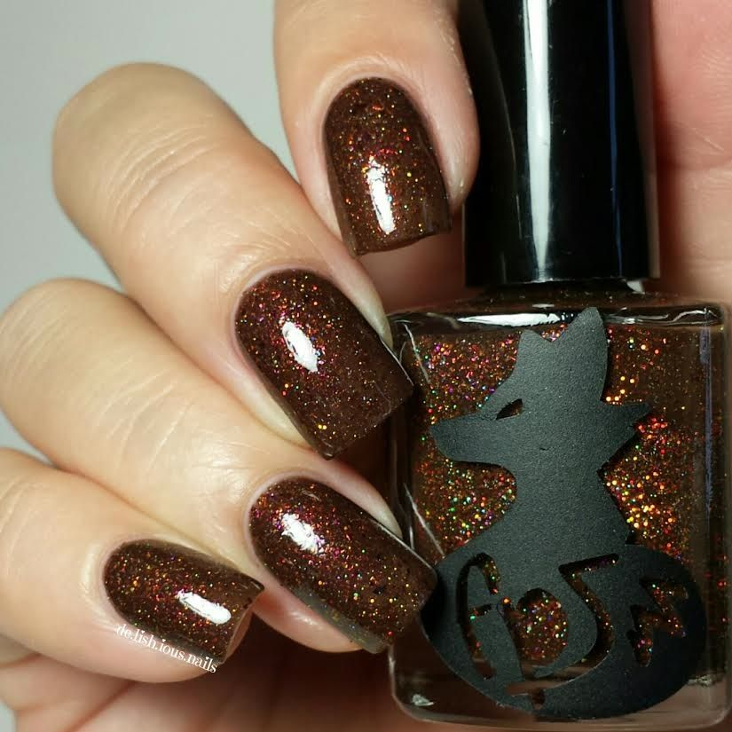 Frenzy Polish Fireside Therapy Swatched twice on sticks | lemming ...