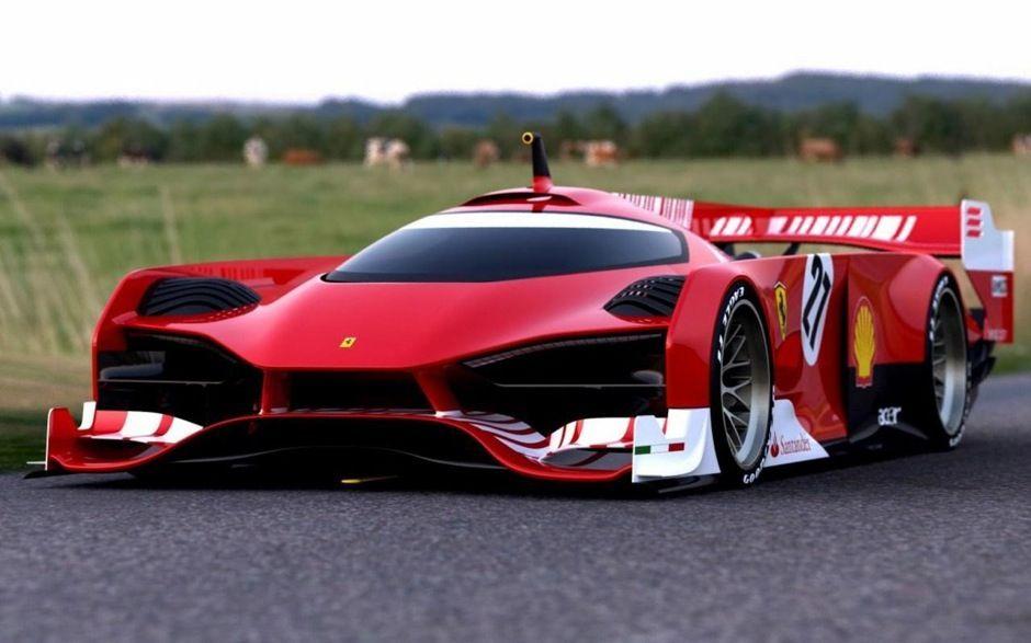 Ferrari Le Mans | http://jeffwongdesign.com/