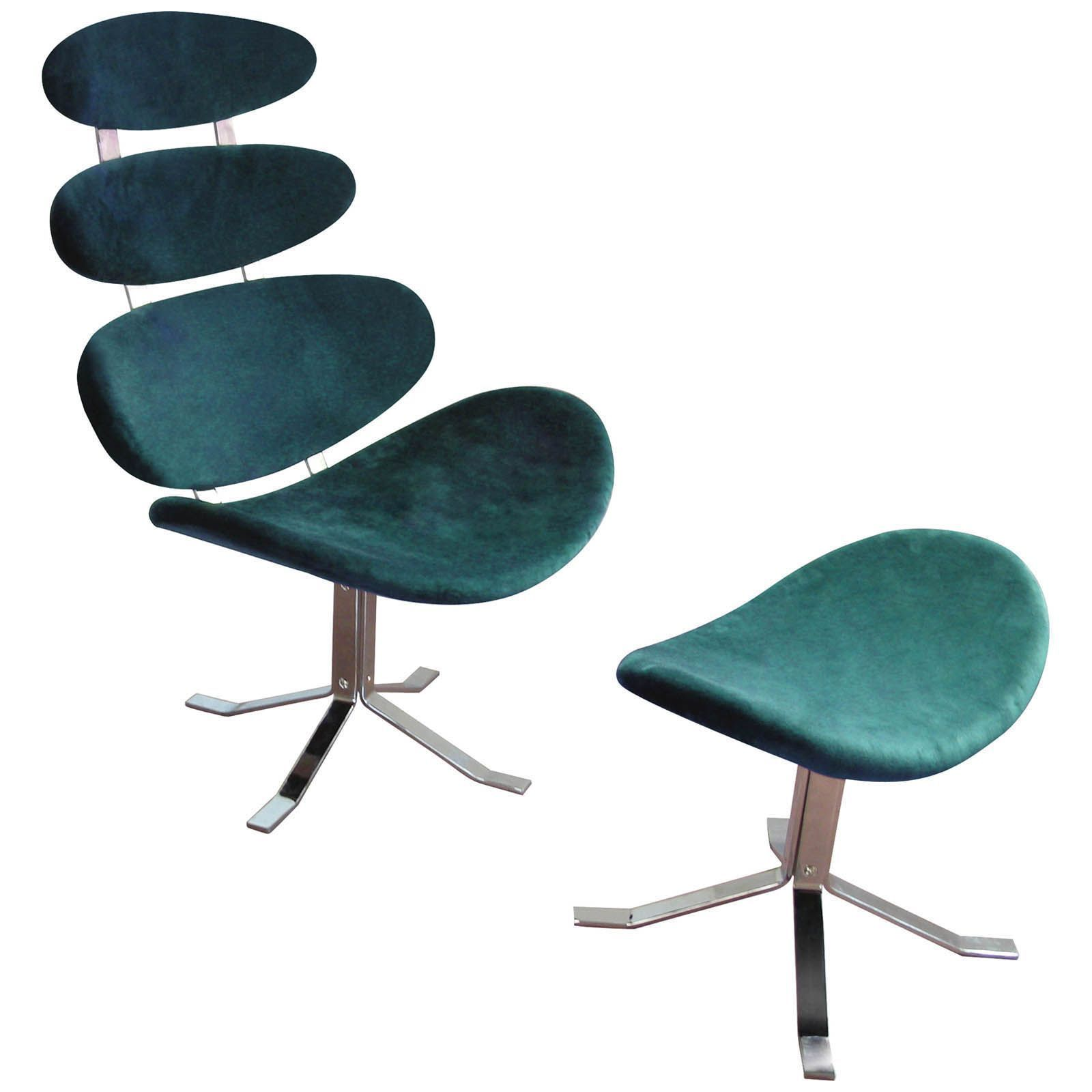 Outstanding Teal Quatro Chair Footstool Things I Want Funky Chairs Creativecarmelina Interior Chair Design Creativecarmelinacom