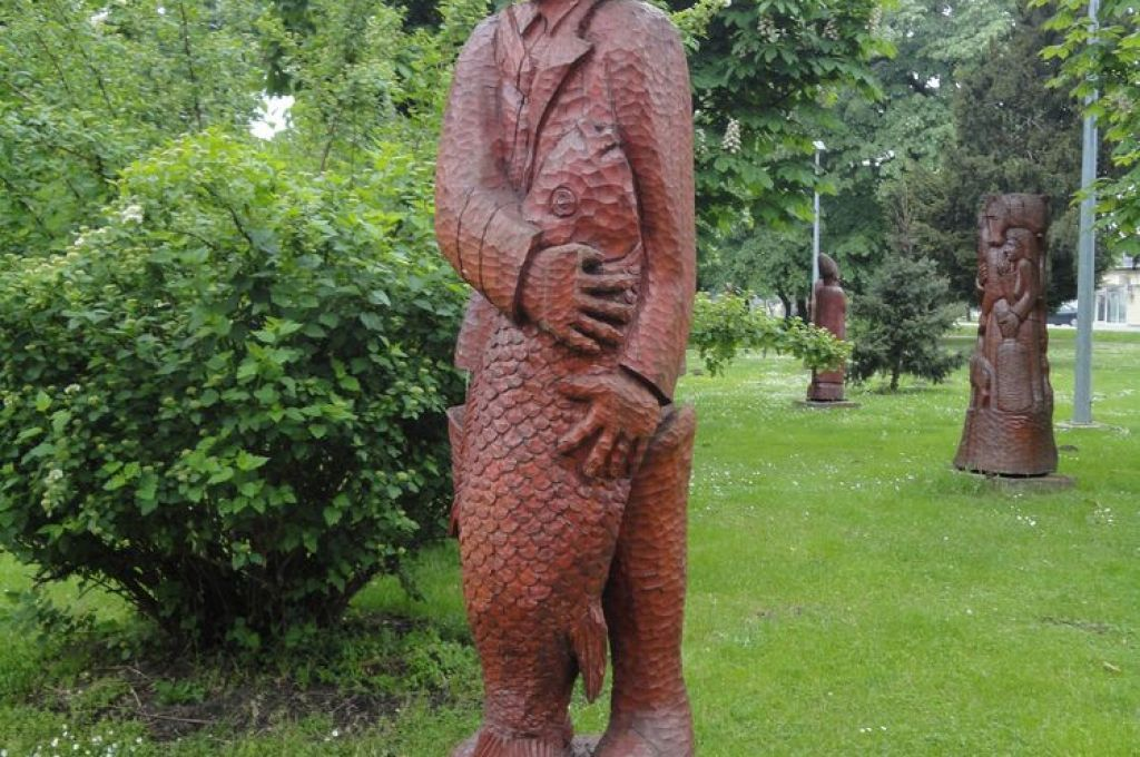 Ovo je vjerojatno jedna ribička skulptura