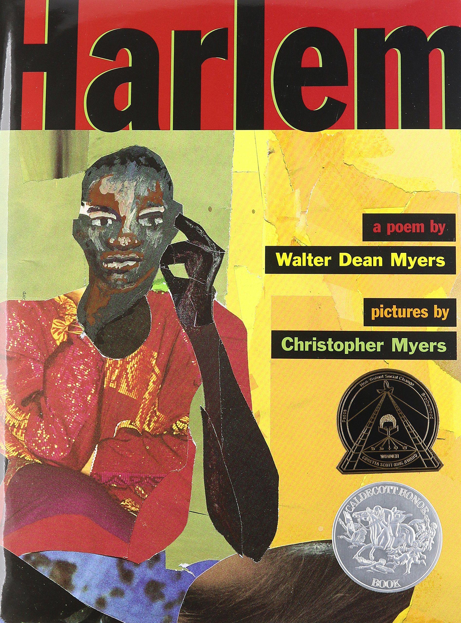 Harlem by walter dean myers black history pinterest