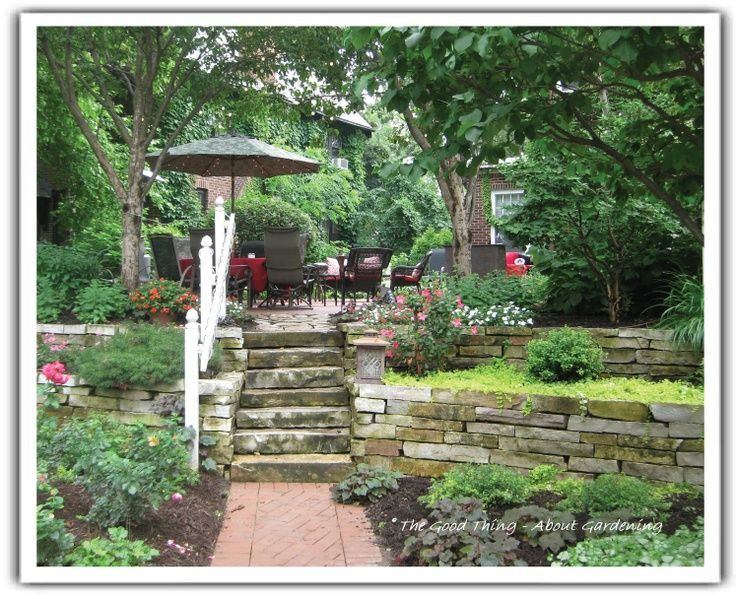 Image result for excavating to level a hilly backyard ...