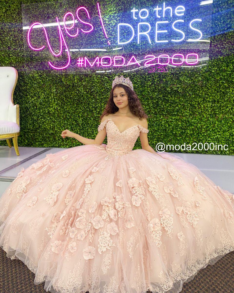 Pretty Off The Shoulder Blush Pink Quince Dress Quinceanera Dresses Pink Quinceanera Dresses Blush Quince Dresses [ 1200 x 960 Pixel ]