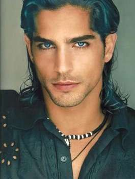 Pin By Deb Castro Eilers On Faces Blue Eyed Men Long Hair