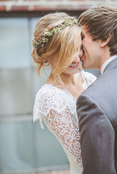 Hairstyles Perfect For A Rustic Wedding Garden Wedding
