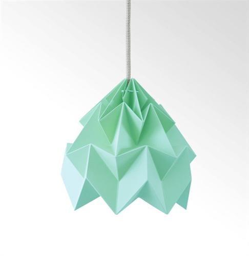 "Fjeldborg shop Origamilampe ""Moth"" isturkis kr 559,-"