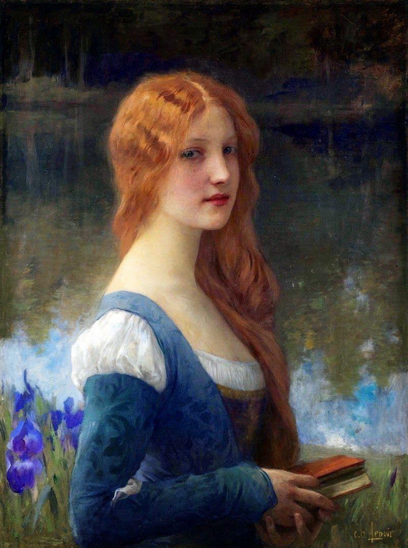 Charles Amable Lenoir Academic Painter Renaissance Paintings Pre Raphaelite Art Renaissance Art