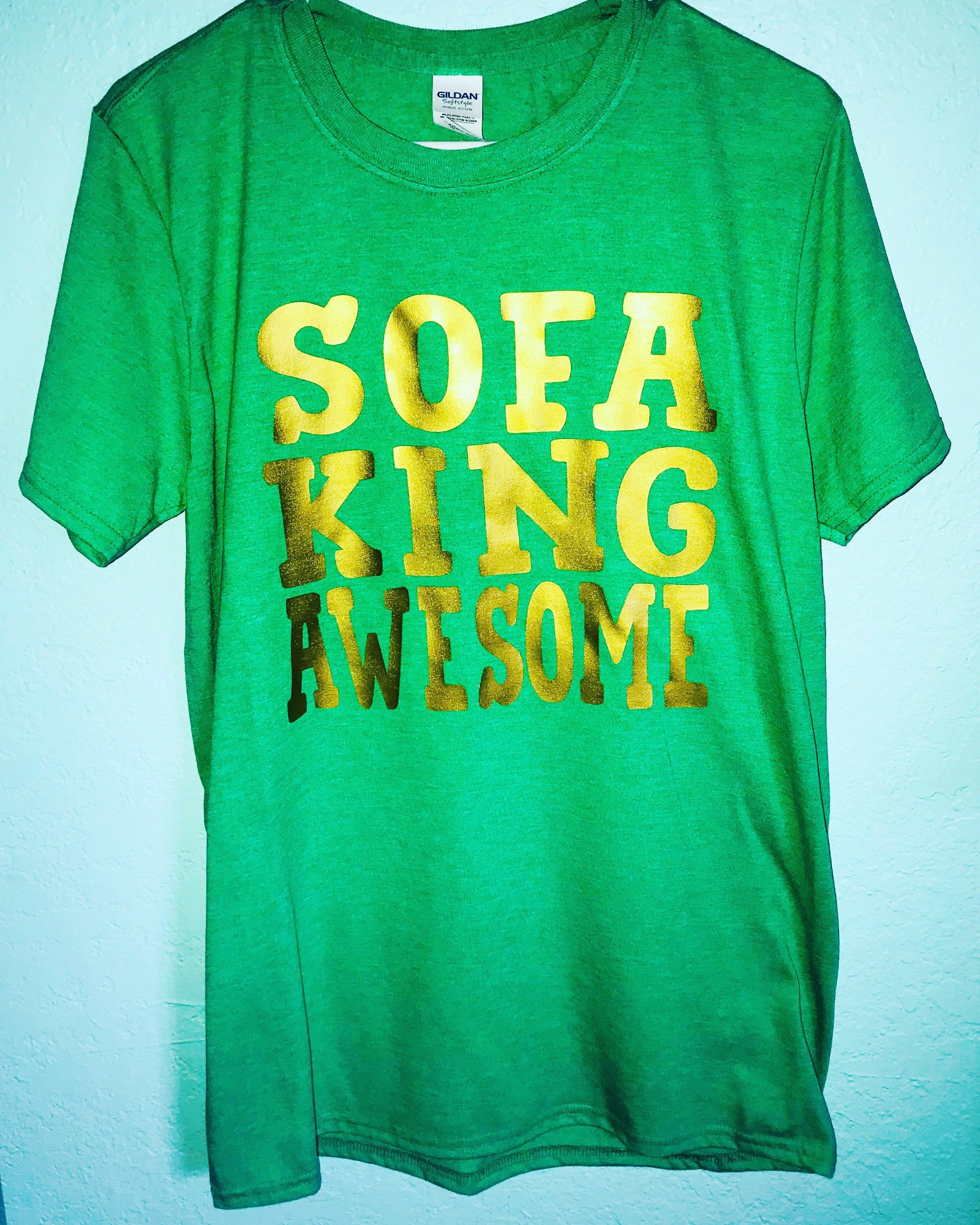 Sofa King Awesome T Shirt Best Leather Companies Men S Bromance Funny Australian For Razor Blades Valentine Day Gift