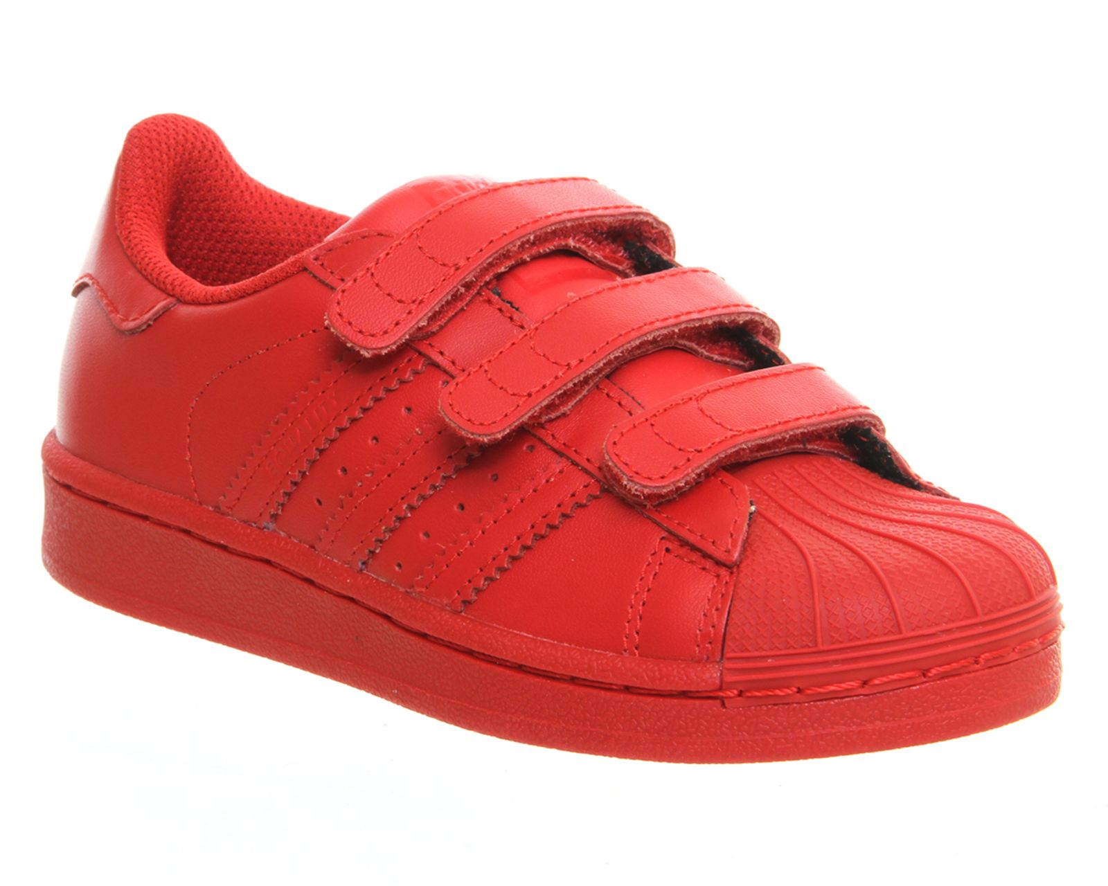 Adidas Superstar Kids 10-2 Pharrell Supercolor Red - Unisex