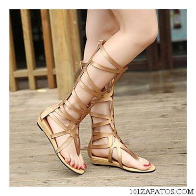 Sandalias Planas Para El Verano Moda Para Mujer Sandalias Planas Moda