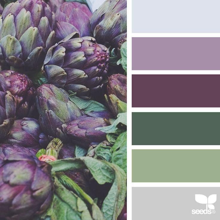 NatureInspired Color Palettes AKA Design Seeds For