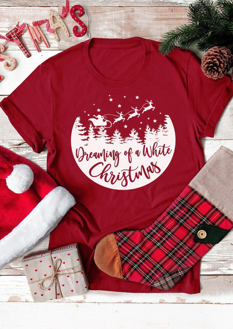 The World S Best Christmas At Amazing Price Bellelily In 2020 Christmas Tshirts Christmas Shirts Christmas Outfit
