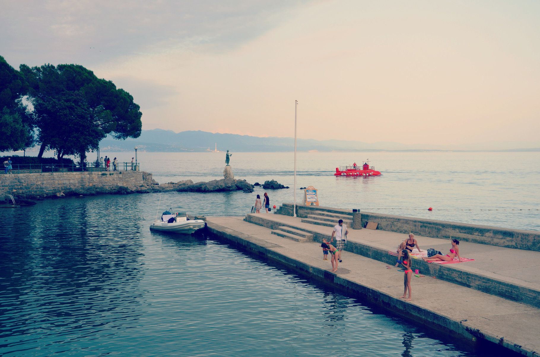 Opatija Croatia - Copyright European Best Destinations. More about Croatia on this free and online travel guide: http://www.europeanbestdestinations.com/travel-guide/zagreb-and-croatia