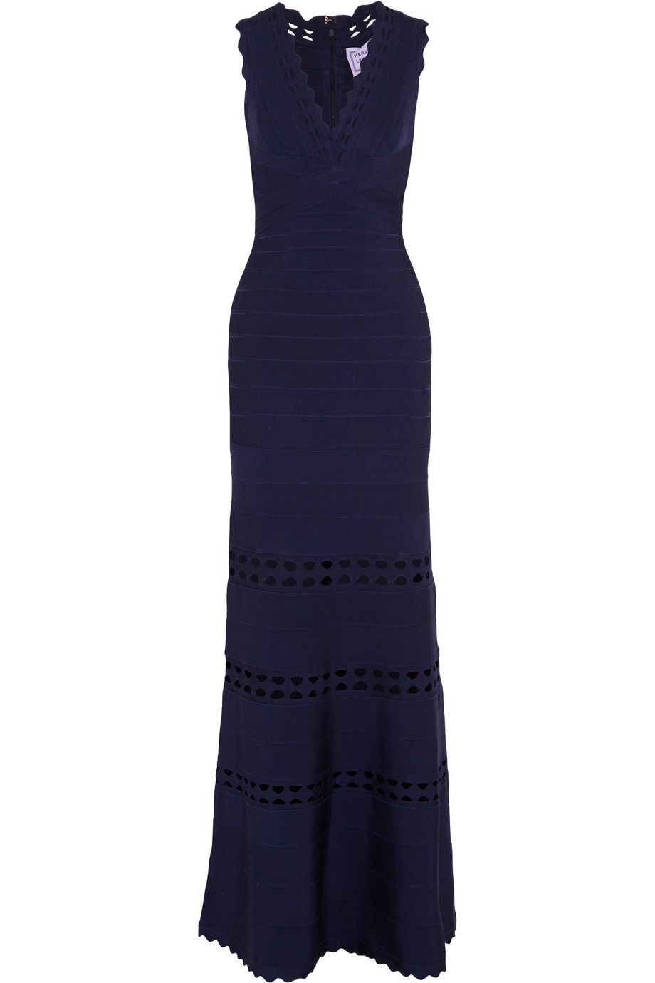 Herve leger cutout bandage gown herveleger cloth gown herve
