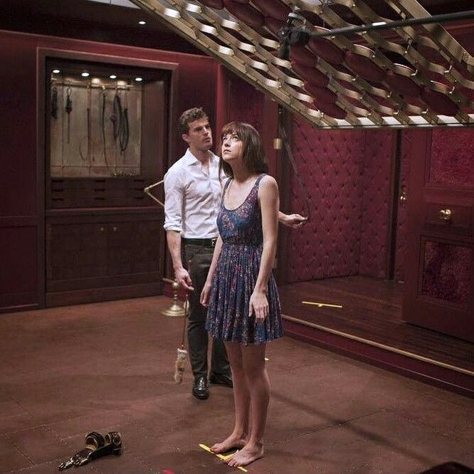 Fifty Shades of grey behindert the scenes