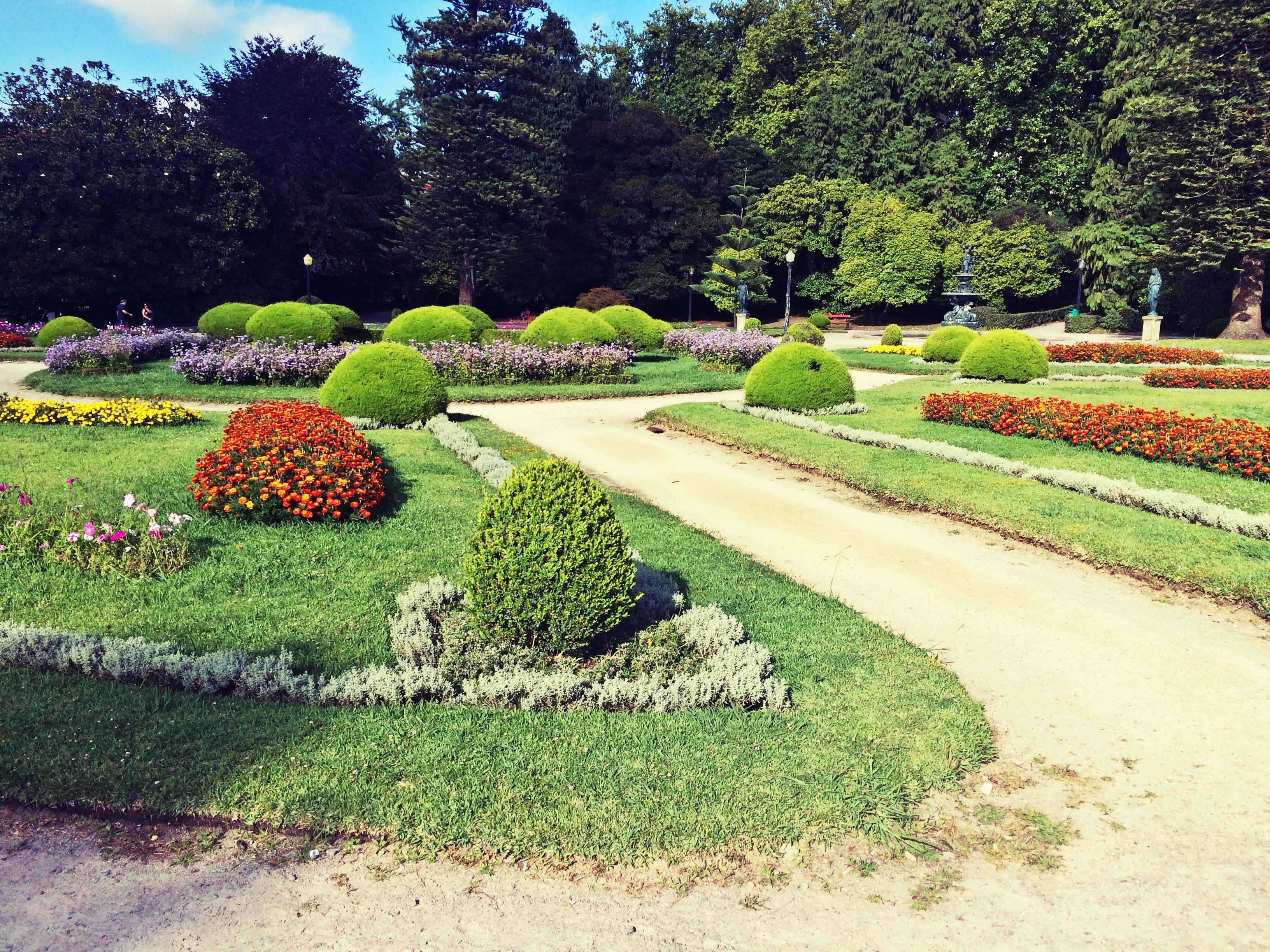 Oporto; Jardines del Palacio de Cristal (Portugal)