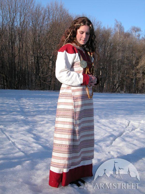 "Wikinger Kostüm Mit Oberteil ""Tochter Des Fjords"" X-xi Jhd."