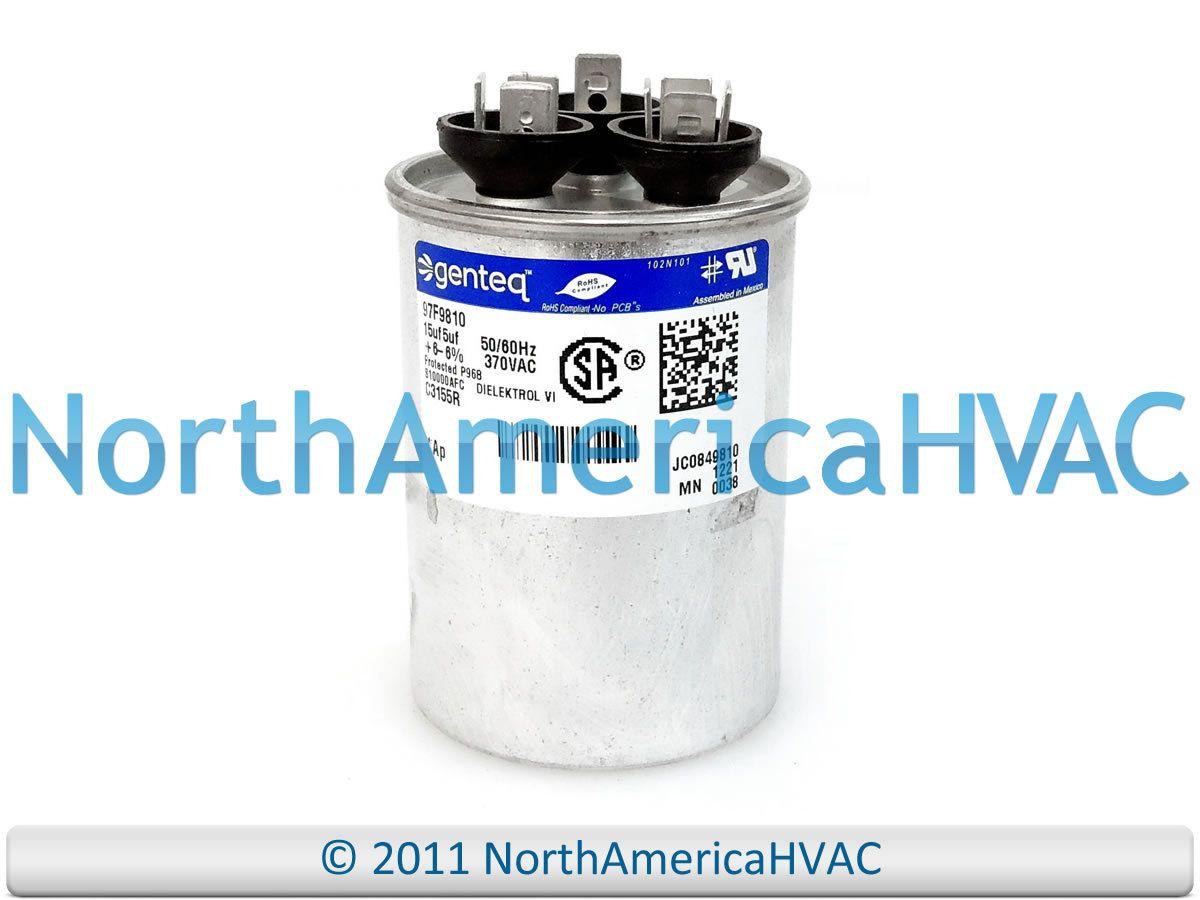 Ge Capacitor Round 15 5 Uf 370 Volt Z97f9810 97f9810 Capacitor Capacitors Round