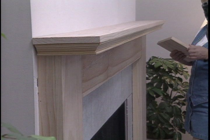 Groovy How To Build A Fireplace Mantle Video Tutorial Fireplace Beutiful Home Inspiration Truamahrainfo