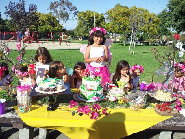 Fairy Garden Birthday Party Ideas | Garden birthday, Woodland fairy ...