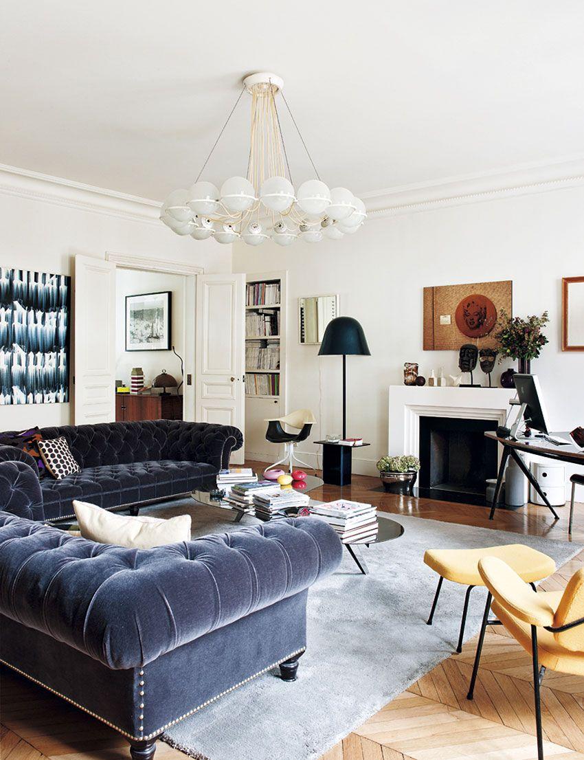 Paris Apartment by Sandra Benhamou | Paris apartments, Apartments ...