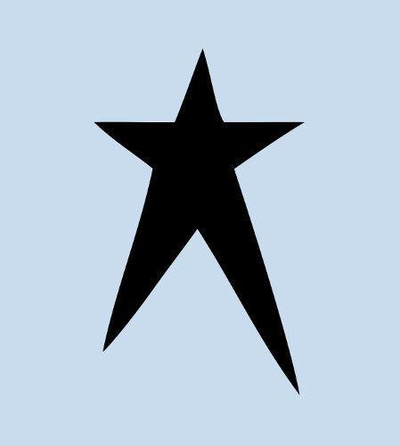 "STAR STENCIL MANY SIZES STARS PAINT CELESTIAL CRAFT ART TEMPLATE 8/"" X 10/"" NEW"